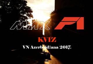MAXF1 Kviz VN Azerbajdžana 2017