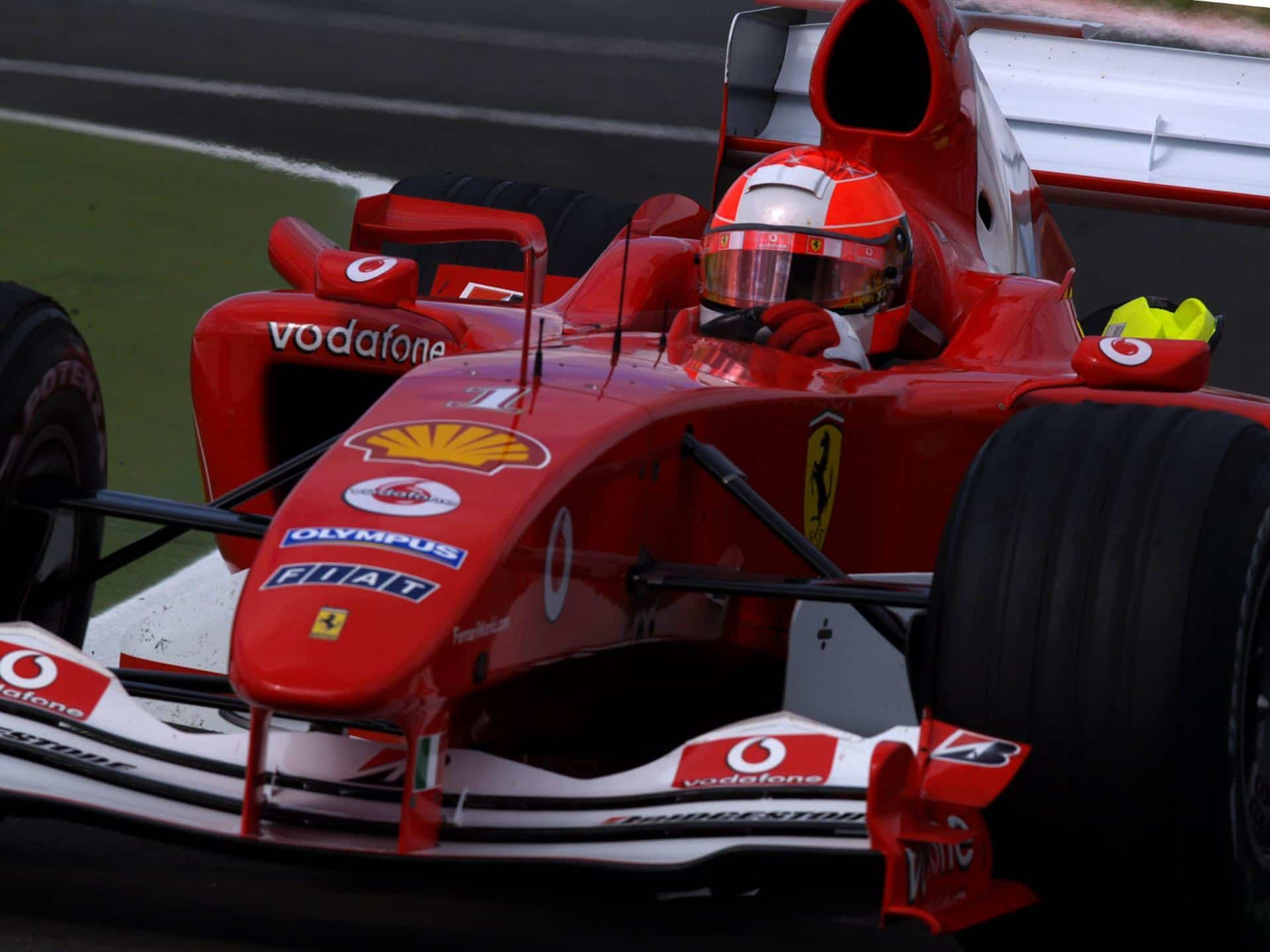2004 French Gp Schumacher Beats Alonso With Four Pitstops