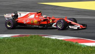 Raikkonen Ferrari SF70H Austrian GP F1 2017 ultrasoft Photo Ferrari