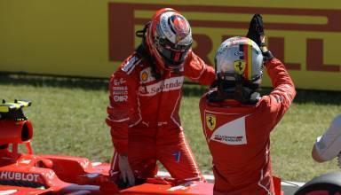 Raikkonen Vettel Ferrari Hungarian GP F1 2017 Photo Ferrari