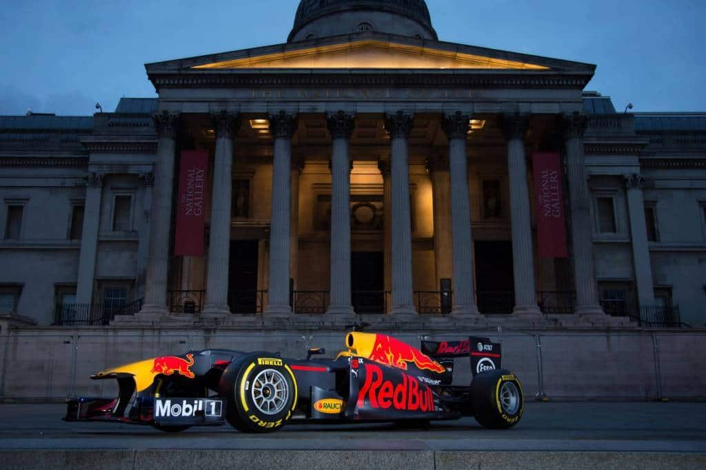 Red Bull RB7 London F1 show 2017 Photo Red Bull