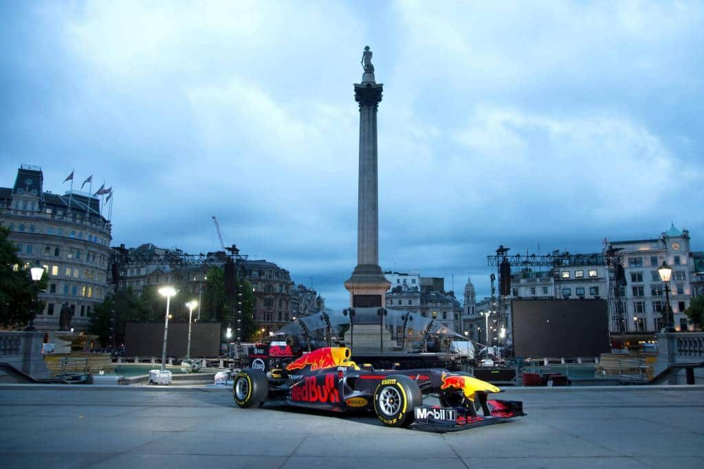 Red Bull RB7 London F1 show 2017 wide Photo Red Bull