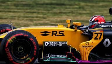 Renault RS17 2017 British GP F1 tech updates bargeboards Photo AMuS MAXF1net