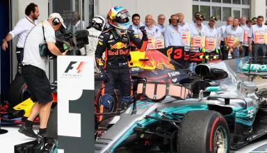 Ricciardo Austrian GP F1 2017 Parc Ferme Photo Red Bull