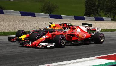 Ricciardo Raikkonen F1 2017 AUstrian GP Photo Red Bull