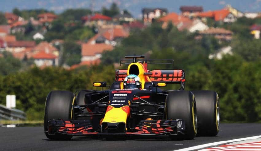 Ricciardo Red Bull Hungaroring F1 2017 Photo Red Bull