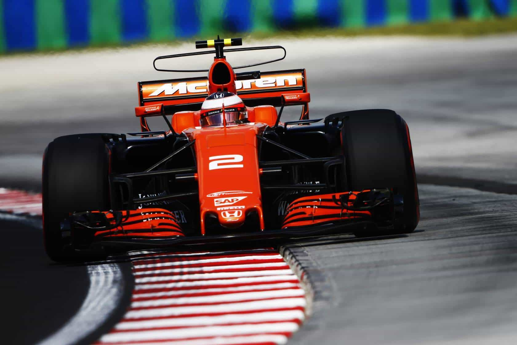 Vandoorne McLaren Honda Hungarian GP F1 2017 Photo McLaren