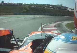 Alonso fastest lap Hungary F1 2017 Screenshot youtube