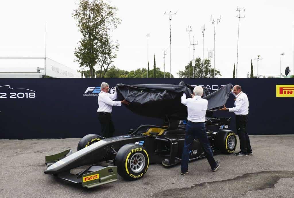 FIA Formula 2 F2 2018 launch Monza Photo FIA