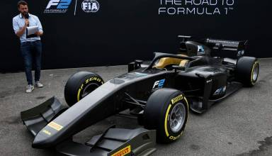 FIA Formula 2 F2 2018 launch front Monza Photo FIA