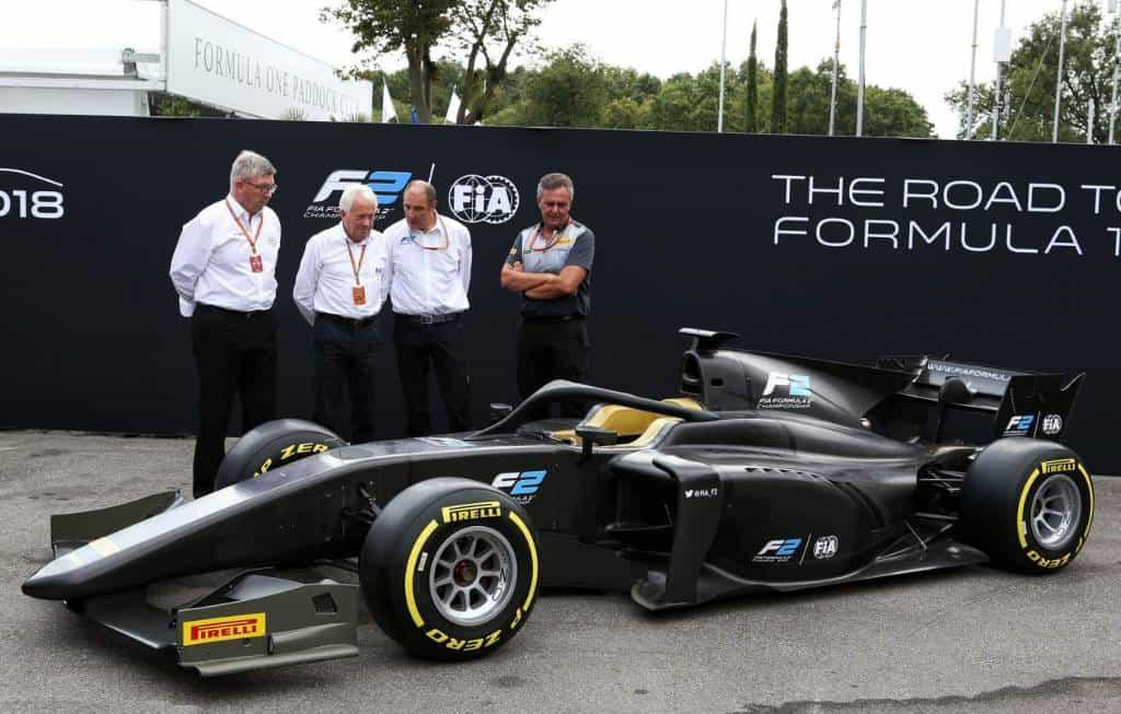 FIA Formula 2 F2 2018 launch side Monza Photo FIA