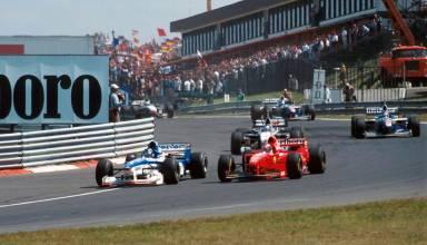 Hungarian GP F1 1997 first corner Photo Playbuzz