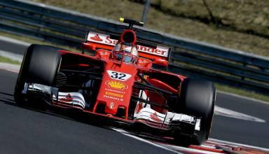 Leclerc Ferrari SF70H Hungary F1 test 2017 Photo Ferrari
