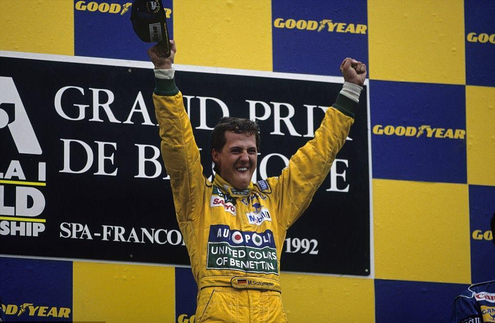 Michael-Schumacher-Benetton-B192-Belgian