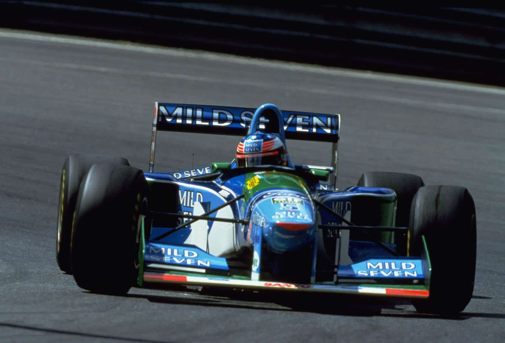 Michael Schumacher Benetton B194 Ford Spa Francorchamps Belgian GP F1 1994 Photo Ford