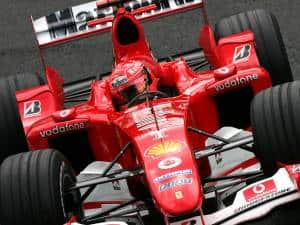 Michael Schumacher Ferrari F2004 Belgian GP F1 2004 Photo Ferrari