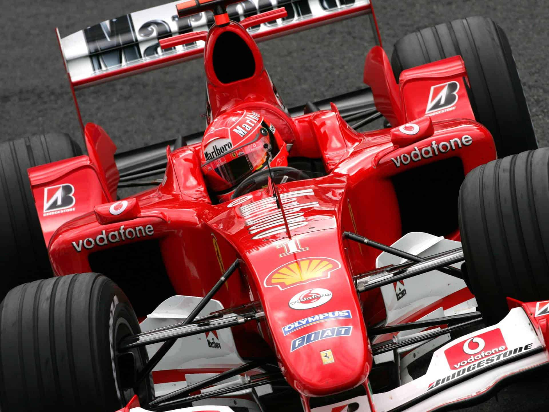 michael schumacher ferrari f2004 belgian gp f1 2004 photo. Black Bedroom Furniture Sets. Home Design Ideas
