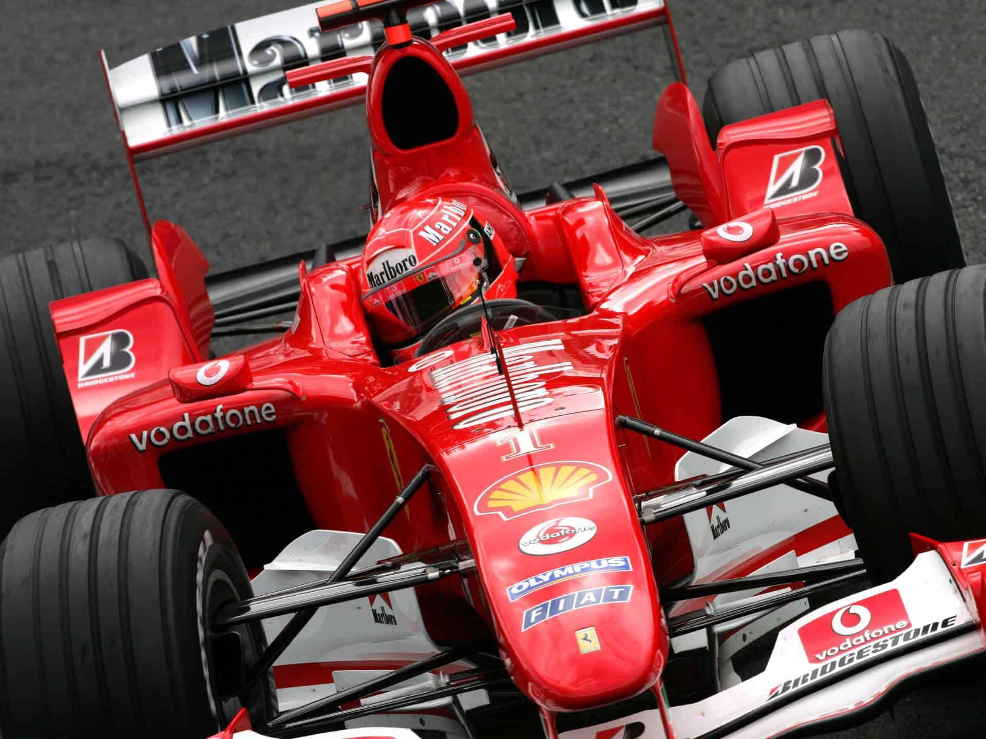 Michael Schumacher Ferrari F2004 Belgian Gp F1 2004 Photo Ferrari Maxf1net