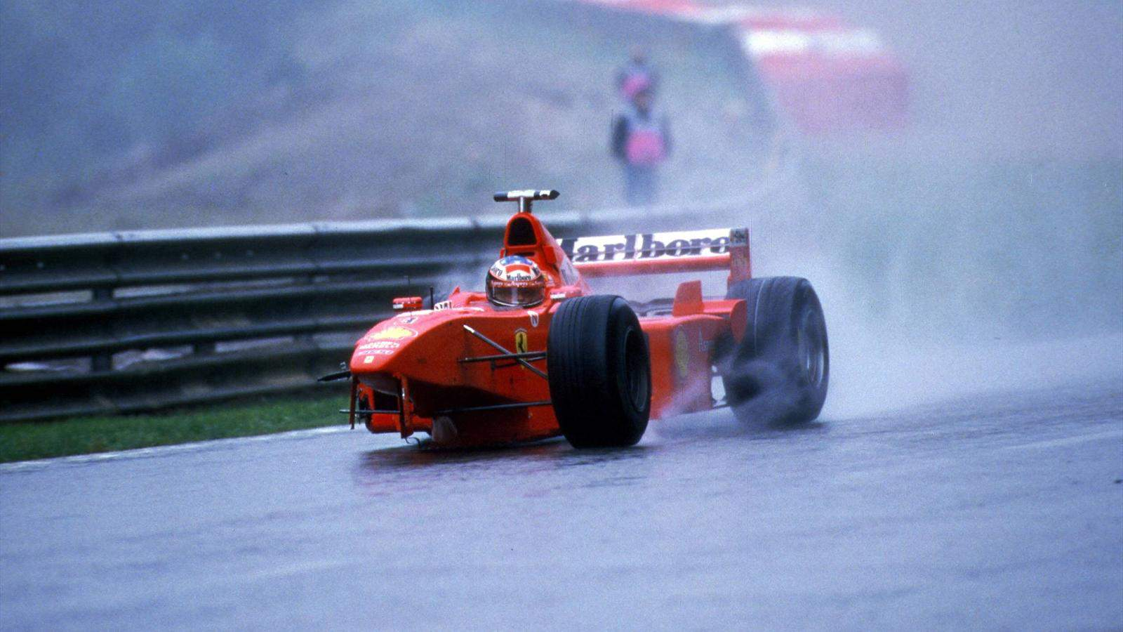 Michael Schumacher Ferrari F300 Belgian GP F1 1998 Photo Reddit