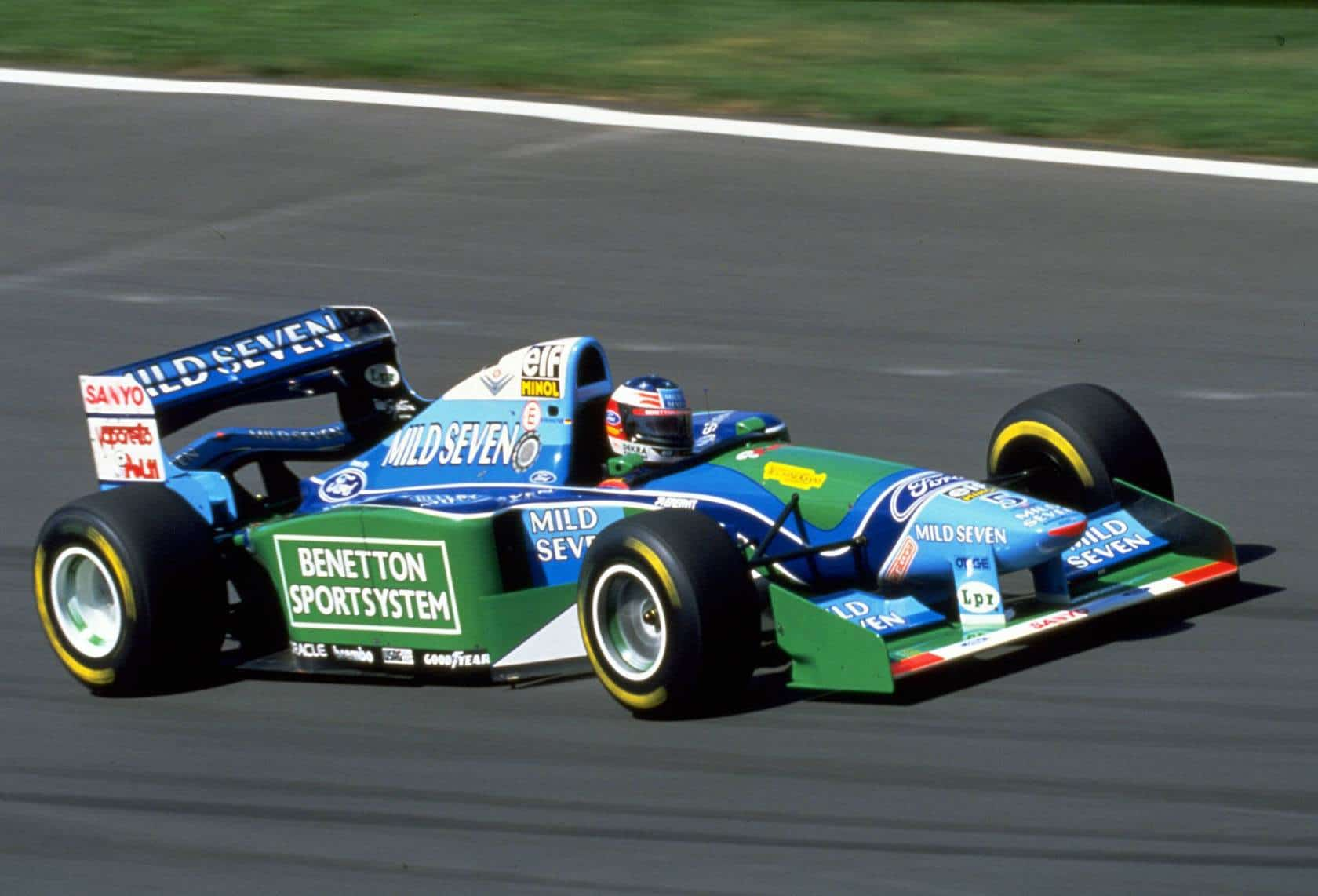 Michael Schumacher Hungarian GP F1 1994 Benetton B194 Photo Ford