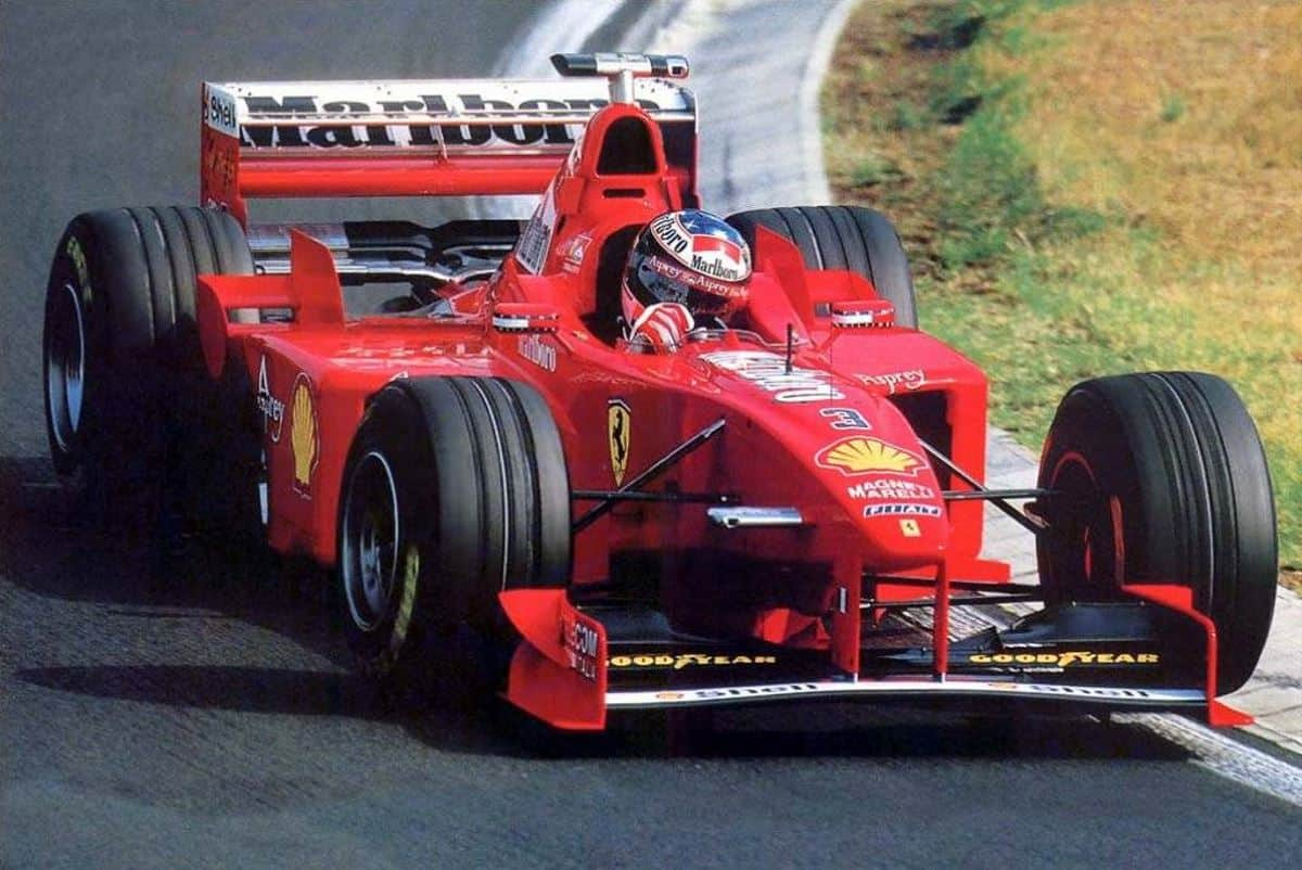 Michael Schumacher Hungarian GP F1 1998 Photo Ferrari
