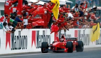Michael Schumacher wins Hungarian GP F1 1998 Photo F1Madness