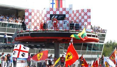 Monza F1 2006 podium Photo Ferrari