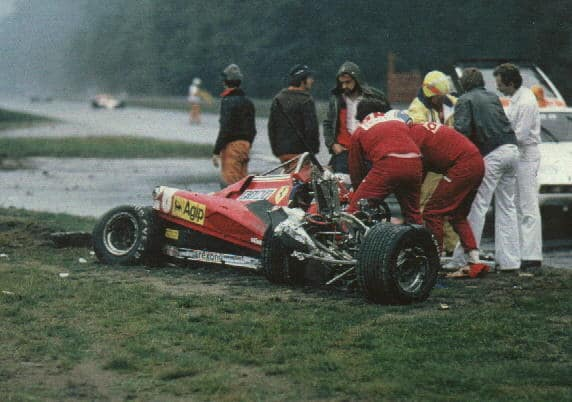 1982 German GP – Tragic end of Pironi's F1 career