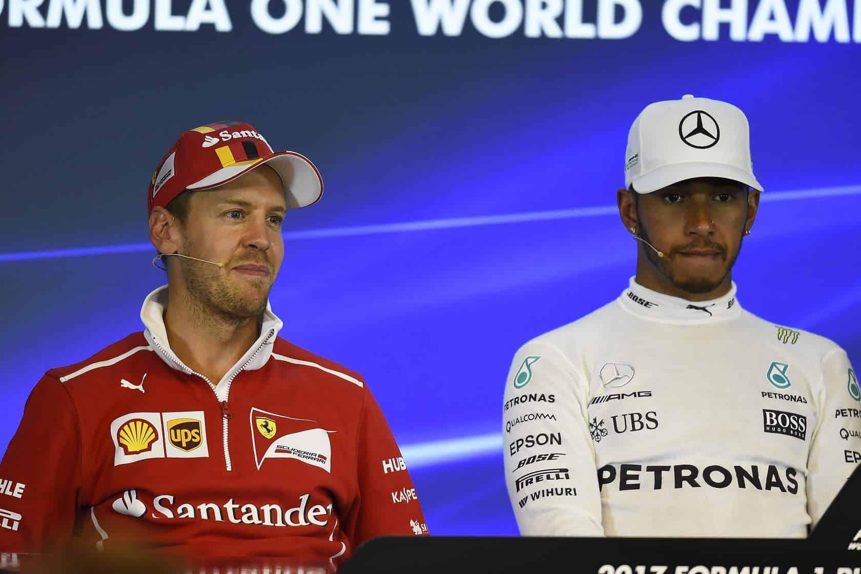 Vettel Hamilton Belgian GP F1 2017 Photo Ferrari