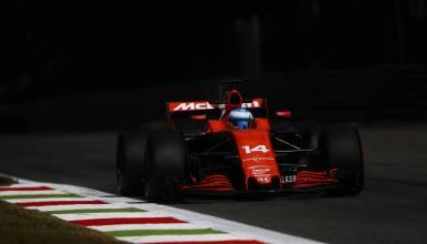 Alonso McLaren Honda Italian GP Monza F1 2017 Photo McLaren