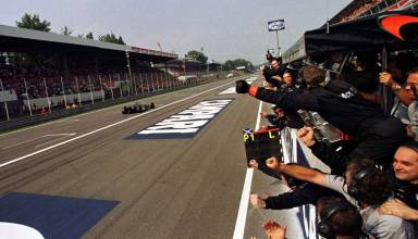 Coulthard wins Italian GP F1 1997 Photo McLaren