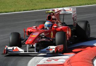 Fernando Alonso Ferrari F10 Italian GP F1 2010 Monza Photo Ferrari