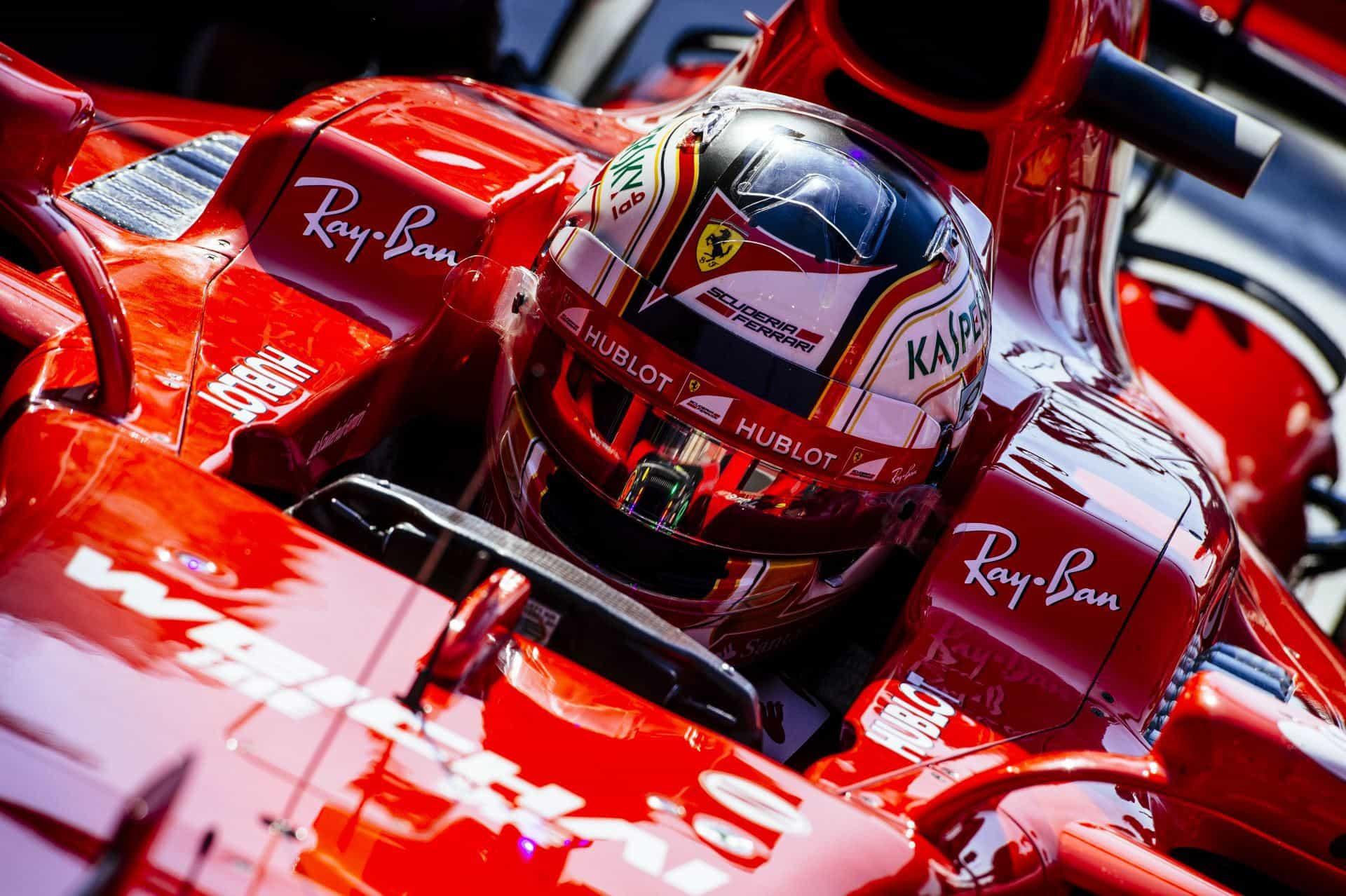 Leclerc Ferrari Hungary F1 2017 test