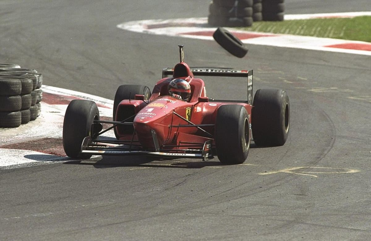 Michael Schumacher Ferrari Italian GP F1 1996 Photo Ferrari Dailymail