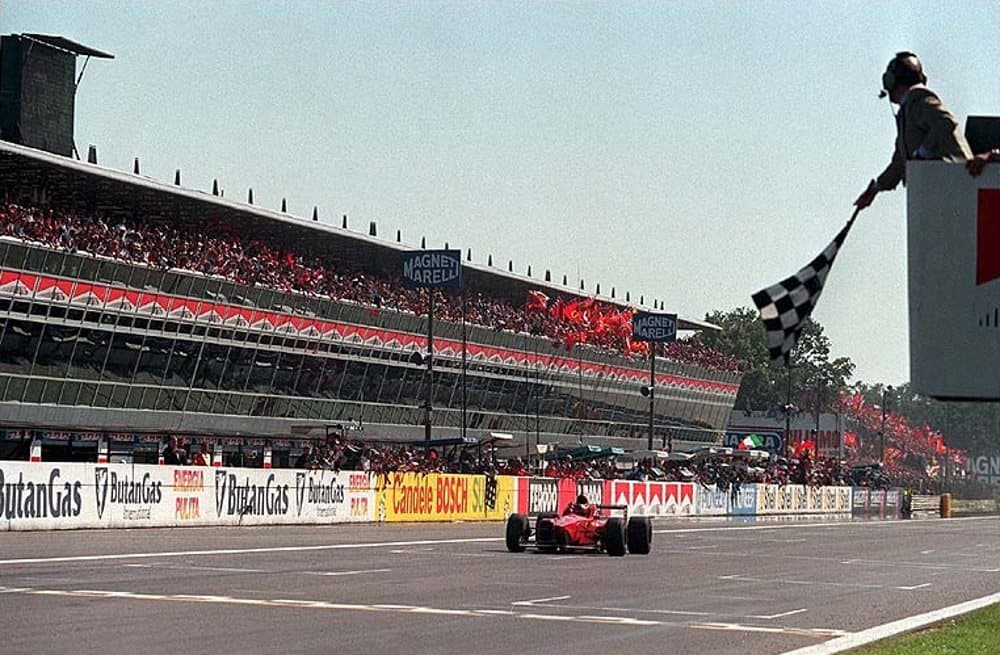 Michael Schumacher Ferrari Italian GP F1 1996 Photo Ferrari Getty