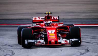 Raikkonen Ferrari Malaysian GP F1 2017 supersoft Photo Ferrari