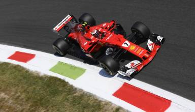 Raikkonen-Ferrari-SF70H-Italian-GP-F1-2017-Monza-Parabolica-Photo-Ferrari.