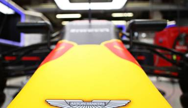 Red Bull Aston Martin nose F1 2017