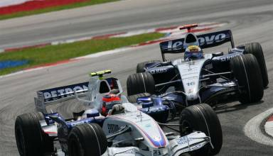 Rosberg Kubica F1 2006