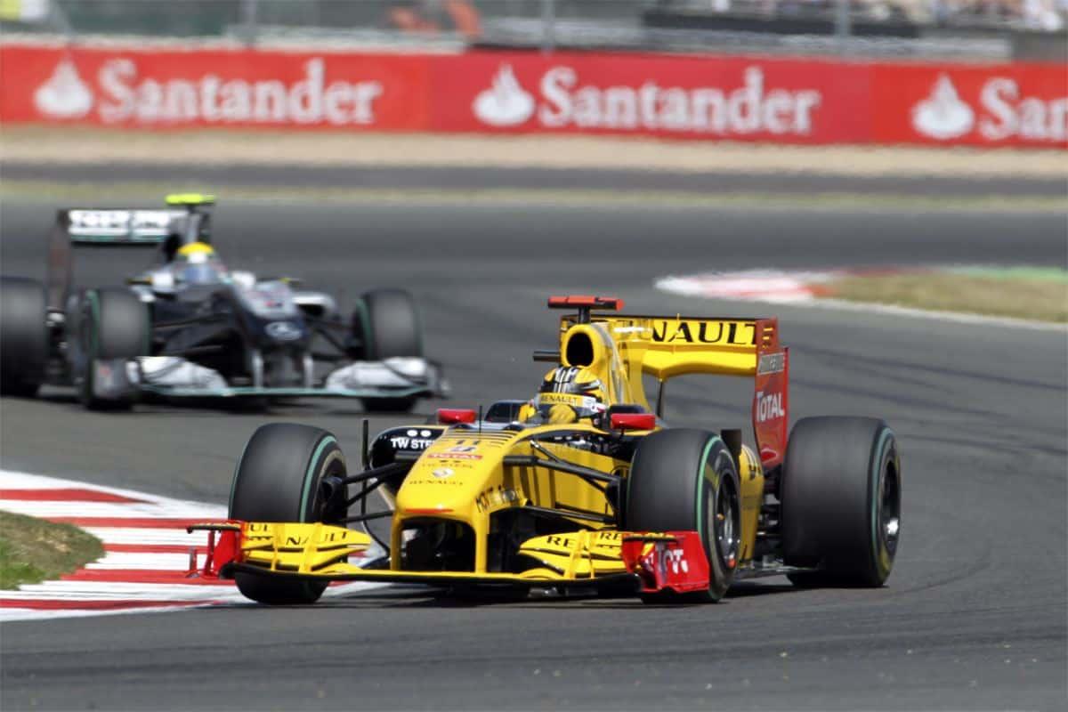 Rosberg Kubica F1 2010