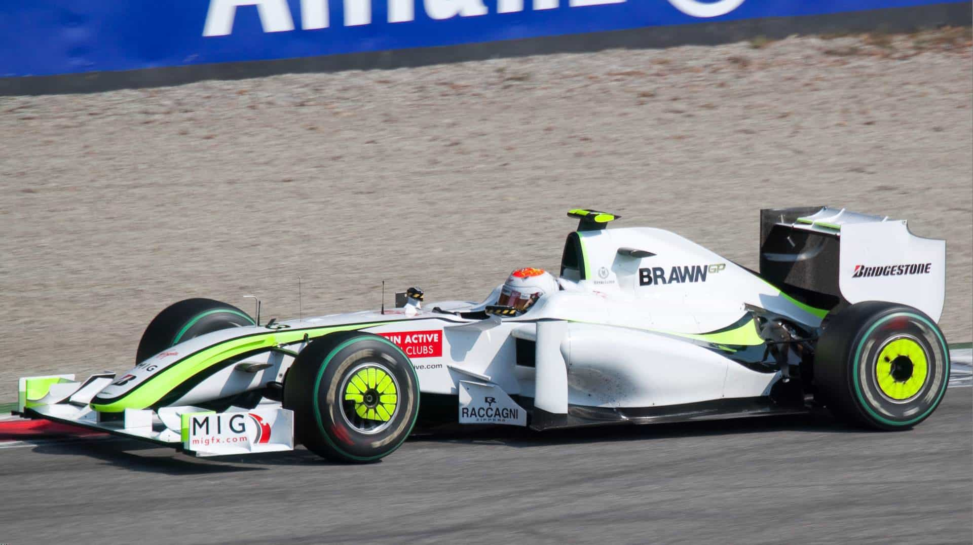 Rubens_Barrichello_2009 Italian GP Monza Brawn GP BGP001 Photo Wikimedia