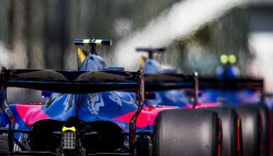 Toro Rosso STR12 rear end MOnza F1 2017 Photo Red Bull