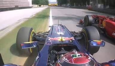 Vettel Alonso Italian GP F1 2011 Screenshot Youtube