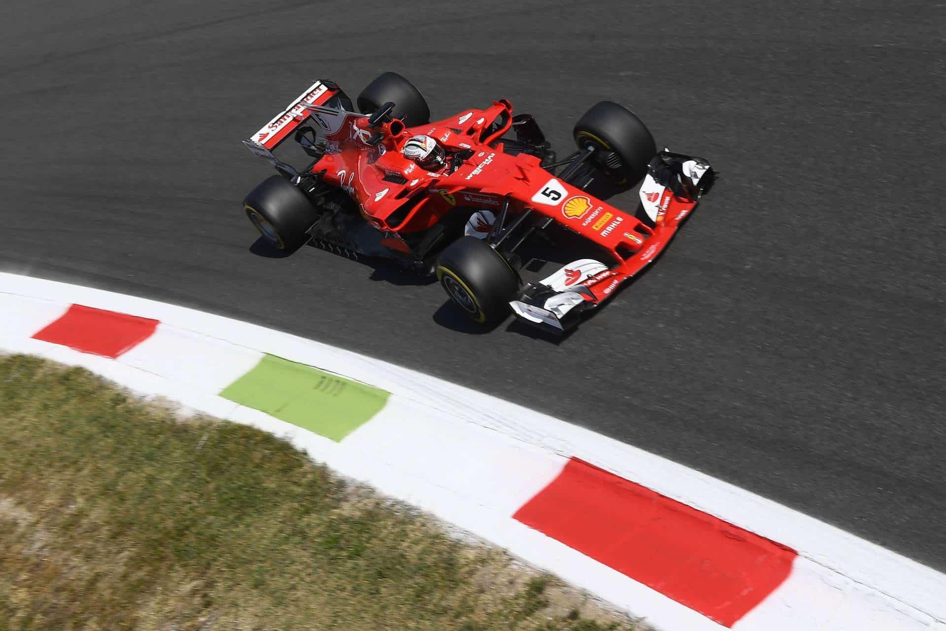 Vettel-Ferrari-SF70H-Italian-GP-F1-2017-Monza-Parabolica-Photo-Ferrari