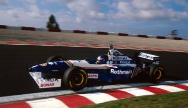 Villeneuve Portugal GP F1 1996 Photo Williams