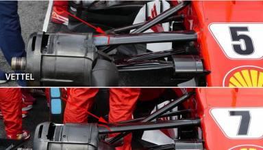 Ferrari SF70H Malaysian GP F1 2017 front suspensions Photo Ferrari Auto Motor und Sport