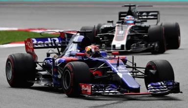 Gasly leads Grosjean Malaysian GP F1 2017 Photo Red Bull