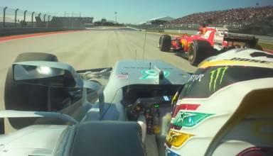 Ham overtakes Vet Austin F1 2017