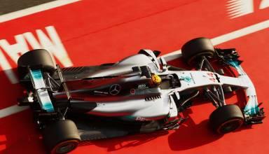 Hamilton Malaysian GP F1 2017 Photo Daimler pitlane