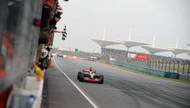 Hamilton wins Chinese GP F1 2008 Photo F1fansite